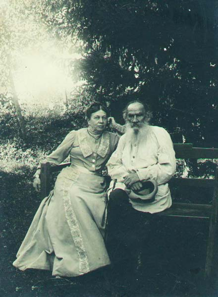 Leo and Sophia Tolstoy